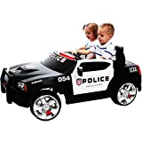 KIDS RIDE ON ELECTRIC BATTERY OPERATED DODGE CHARGER POLICE CRUISER RIDE ON CAR