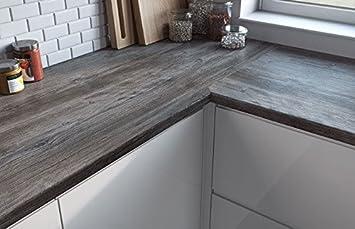 Egger Contemporary Jackson Pine Wood Effect Kitchen Bathroom Laminate Worktop Offcut Work Surface 40mm Breakfast Bar - 3m x 1200mm x 8mm Splashback
