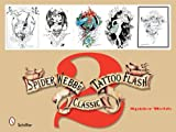 Spider Webbs Classic Tattoo Flash 2 (Bk.2)