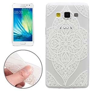 Crazy4Gadget Translucent FLower Pattern Ultrathin TPU Case for Samsung Galaxy A3 / A300
