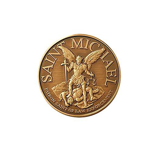 Northwest Territorial Mint Saint Michael, Army Bronze Antique
