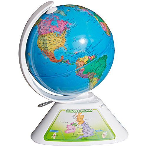 oregon scientific smart globe how to turn on