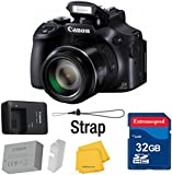 Canon-Powershot-SX60-161MP-Digital-Camera-65x-Optical-Zoom-Lens-3-inch-LCD-Tilt-Screen-Black-International-Version