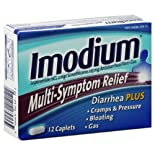 Imodium Multi-Symptom Relief, Caplets, 12 ct.