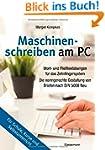 Maschinenschreiben am PC: Wort- und F...