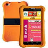 Pinig Kids Smart Tablet 6-8 With Orange Bumper (6.9 Inch, 2G, 3G, HD, 1280x720), Silver Black