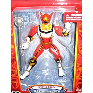 Power Rangers 15th Anniversary Mystic Force Red Ranger