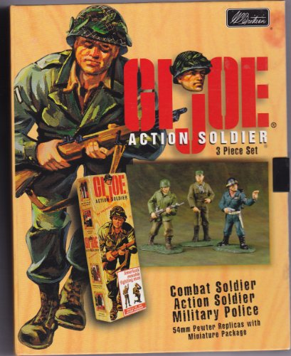 Picture of Hasbro W. Britain G.I. Joe Action Soldier - The Ultimate American Hero Figure (B004X7YWQO) (G.I. Joe Action Figures)