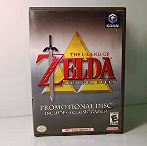 The Legend of Zelda: Collector's Edition (Zelda / Zelda II: The Adventure of Link / Ocarina of Time / Majora's Mask)
