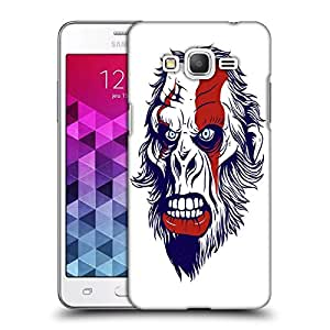 Snoogg Monkey Man Designer Protective Back Case Cover For Samsung Grand Prime G5306W