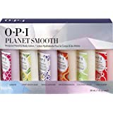 OPI Planet Smooth Avojuice Hand & Body Lotion 30ml - Pack of 6 - Jasmine, Sweet Lemon Sage, Vanilla Lavender, Spiced Persimmon, Coconut Melon, Cran & Berry