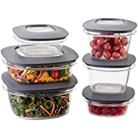Rubbermaid Premier 12 Piece Food Storage Containers
