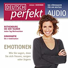 Deutsch perfekt Audio - Emotionen. 12/2012 Audiobook by  div. Narrated by  div.