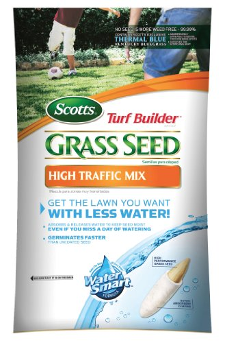 Scotts 18154 Turf Builder High Traffic Grass Seed 3-Pound Bag