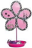 Three Cheers Zebra Flower Jewelry Holder