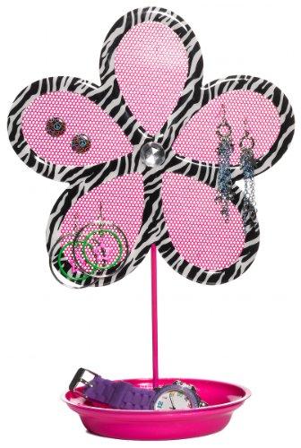three-cheers-zebra-flower-jewelry-holder