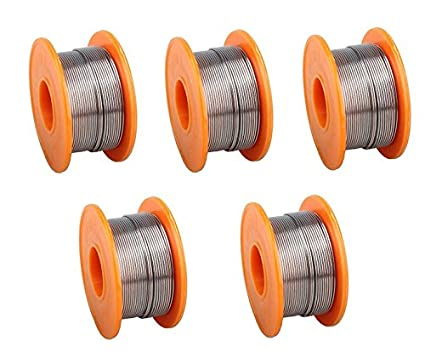 1Mm-50gm-Solder-Wire-(-Pack-of-5-Pcs-)-Roll-Only-From-M.P.Enterprises