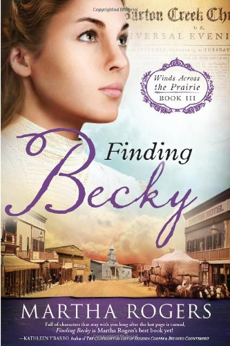 Image of Finding Becky: Winds Across the Prairie, Book Three