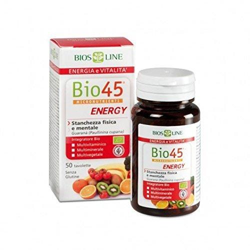 Bios Line Bio 45 Energy Integratore Alimentare 50 Tavolette