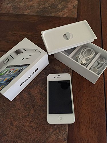 Apple iPhone 4S 16GB White – Unlocked