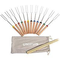 12-Pack Unifun Marshmallow Roasting Sticks