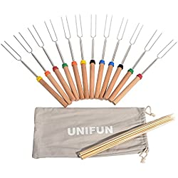 Unifun Marshmallow Roasting Sticks 12-Pack