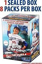 2016 Topps Chrome Baseball Factory Sealed 8 Pack Box - Fanatics Authentic Certified - Baseball Wax Packs