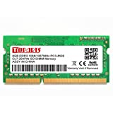 TOPARTS DDR3 8GB (1X8GB) 204PIN 1600MHz PC3-12800 SO-DIMM Memory Support 1.35V&1.5V