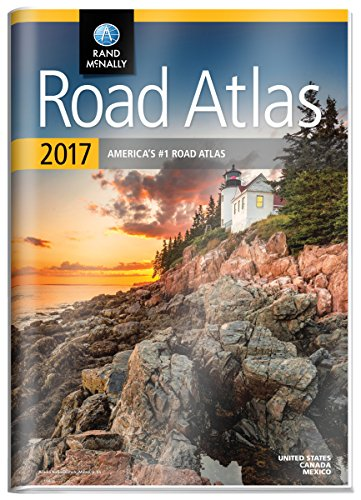 Rand McNally 2017 Gift Road Atlas (Durable vinyl cover) (Rand Mcnally Road Atlas United States/ Canada/Mexico (Gift Edition)) (Road Map Canada compare prices)
