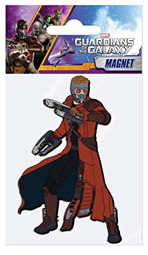Marvel Star-Lord Soft Touch PVC Magnet - 1