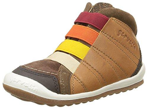 GarvalinWigan - Sneaker Bambino , Marrone (Marron(C/Cuero Y Taupe)), 29