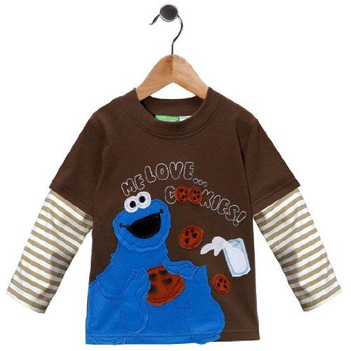 Cookie Monster Homespun Shirt 3T