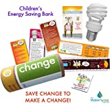Energy Star Bank Saving Eco-kit| Change | CFL Light Bulb & Energy kids Conservation Fun Tips
