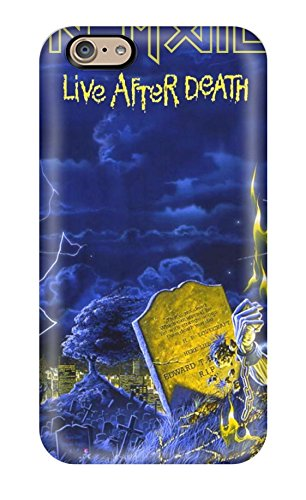 Tough Iphone Wekdd3673Hobtc Case Cover/ Case For Iphone 6(Iron Maiden Live After Death) back-529003