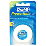 Braun Oral-B Essential Floss: Waxed Dental Floss 50m MINT FLAVOUR