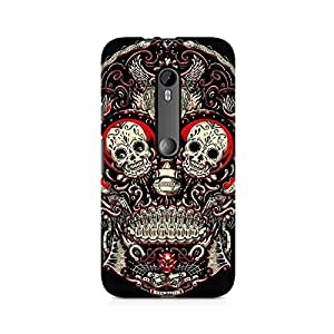 Mobicture Skeleton Love Premium Printed Case For Moto X Play
