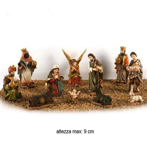 11pz Festar Due Esse Christmas 9cm Statuine presepe odontotal.com.uy