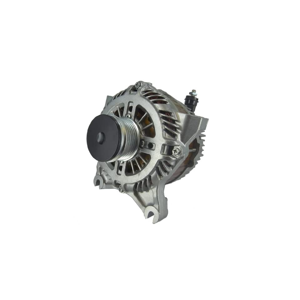 Quality Remanufactured Alternator for Ford Crown Victoria (Police Option) 2004 2005 2006 2007 2008 and Mercury Marquis 2004 4.6L v8 4W73 10300 AC, 4W7Z 10346 AC, A4TJ0181, A4TJ0181ZC 190 Amps with New OEM Clutch Pulley