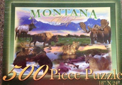 Montana Wildlife Jigsaw Puzzle
