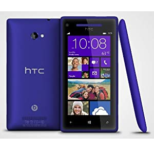 HTC 8X 16GB AT&T Unlocked GSM 4G LTE Windows 8 OS Smartphone - Blue from HTC