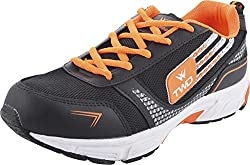 Touchwood Mens Black Rubber Sports And Outdoor Shoes (KGN008, Size- 7 UK)