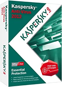 Kaspersky Anti-Virus 2012 - 3 Users