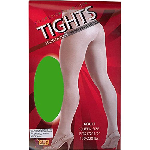 Plus Size Green Tights - Plus