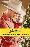Love Inspired December 2014 - Box Set 2 of 2: Her Holiday Family\Sugar Plum Season\Her Cowboy Hero\Small-Town Fireman