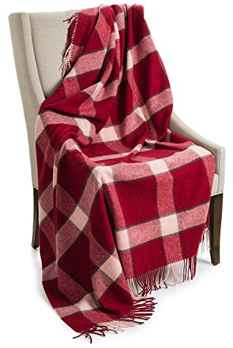 Johnstons of Elgin Pure Cashmere Throw Blanket - 75x55