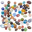 eCrafty\'s Everything But the Kitchen Sink! ONLY LAMPWORK Glass Beads Mix 1/2 Lb