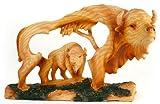 Unison Gifts MME-307 Medium Animal Woodlike Carving - Buffalo