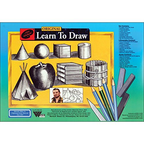 Martin-F-Weber-Jon-Gnagy-Learn-To-Draw-Set