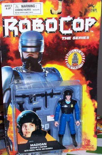 Robocop The Series Police Detroit - Madigan - 1
