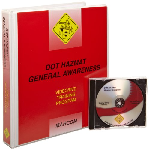 Marcom V0000339EO Dot Hazmat A General Awareness DVD Program
